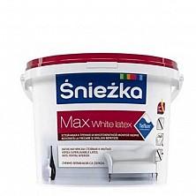 Vopsea Sniezka Max White Latex 10L